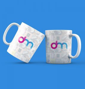 Coffee Mugs Mockup PSD