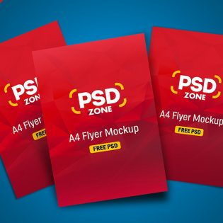 Multi-Flyer Mockup PSD