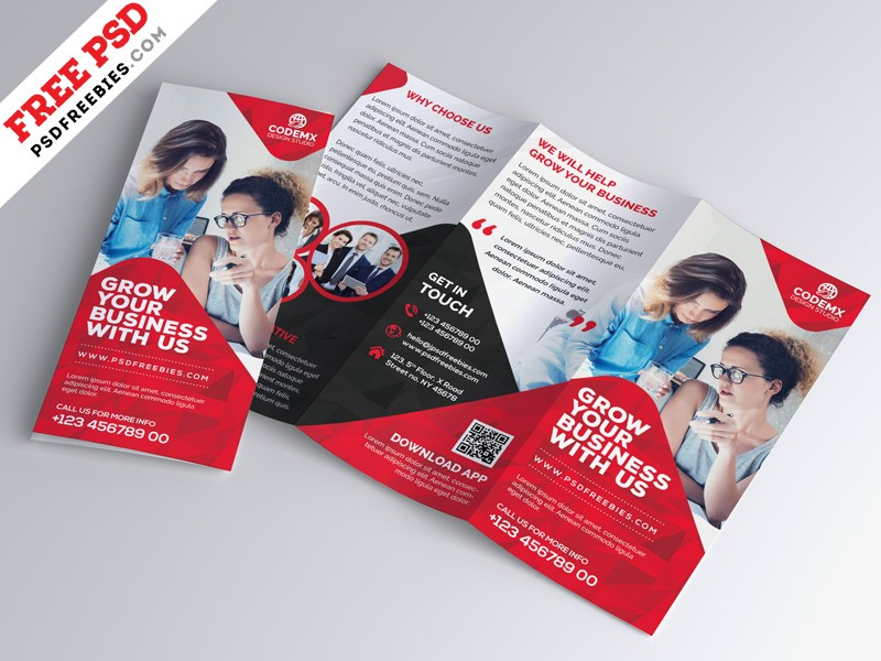 Business Tri Fold Brochure Template Download Download Psd