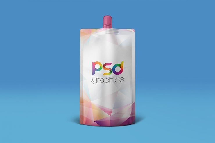 Doypack Packaging Mockup PSD