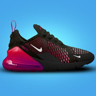 Free Nike Air Max Shoes Mockup