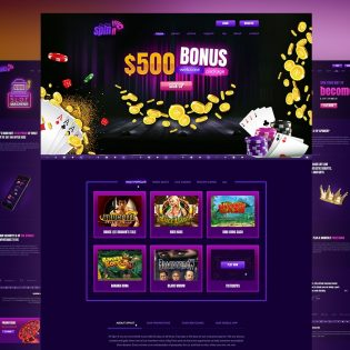 Online Casino & Gambling Website Templates