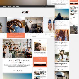 Blog Website PSD Templates