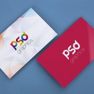 Free Business Card Mockup PSD Template
