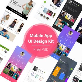 Mobile App UI Design Kit