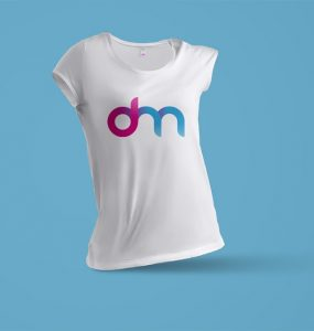 Women T-Shirt Mockup PSD Template
