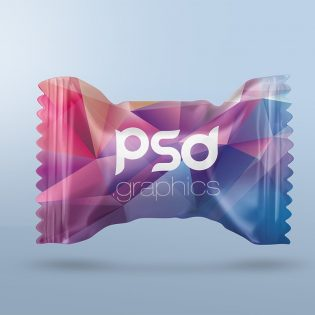 Candy Packaging Mockup