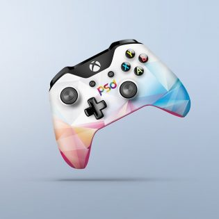 Free Xbox One Controller Mockup