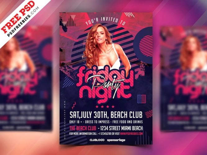 Download Free Flyers PSD - Download PSD
