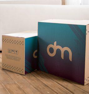 Cardboard Carton Box Mockup