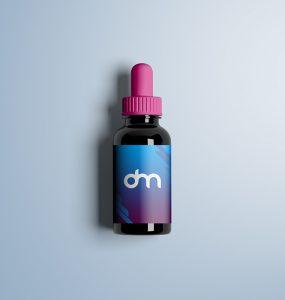 Free Dropper Bottle Mockup PSD