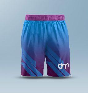 Free Mens Shorts Mockup PSD