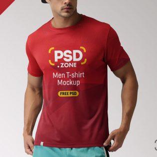 Free T-Shirt Mockup PSD Template