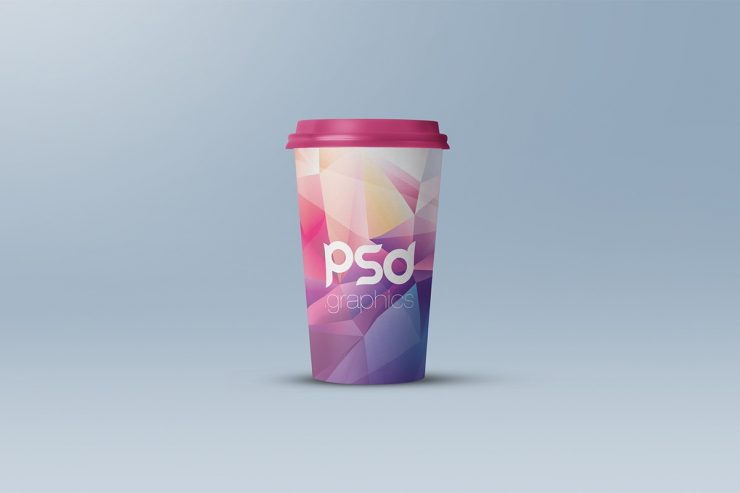 Large Coffee Paper Cup Mockup
