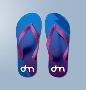 Slipper Mockup Template PSD