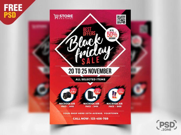 Black Friday Sale Flyer Template