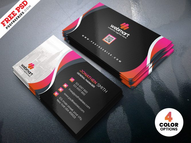 Creative Agency Business Card Design Template