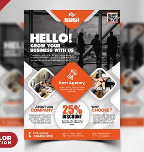 Creative Business Flyer PSD Template