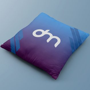 Free Square Pillow Mockup PSD
