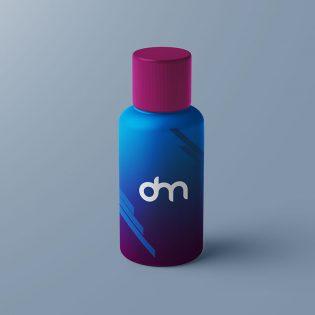 Free Plastic Bottle Mockup PSD