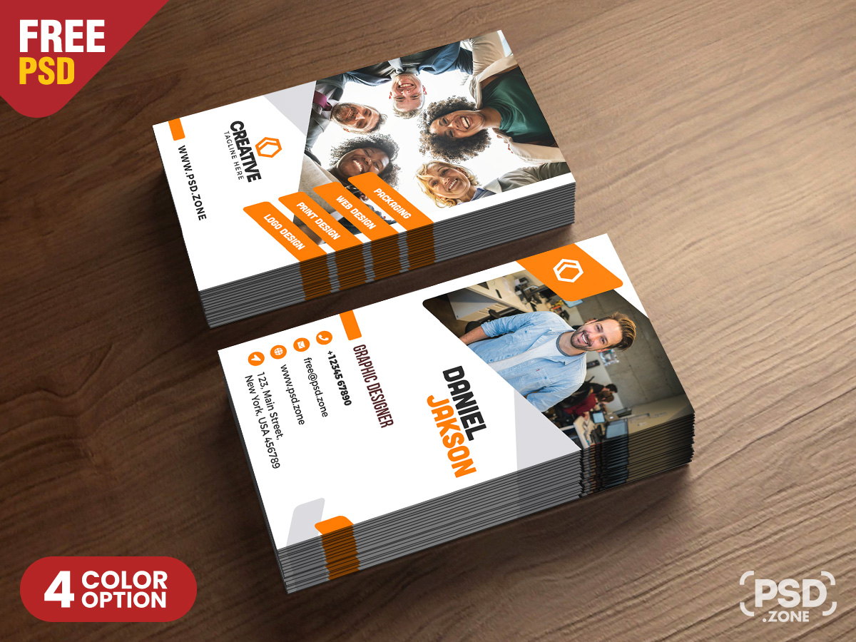Free Vertical Business Card Template from downloadpsd.cc
