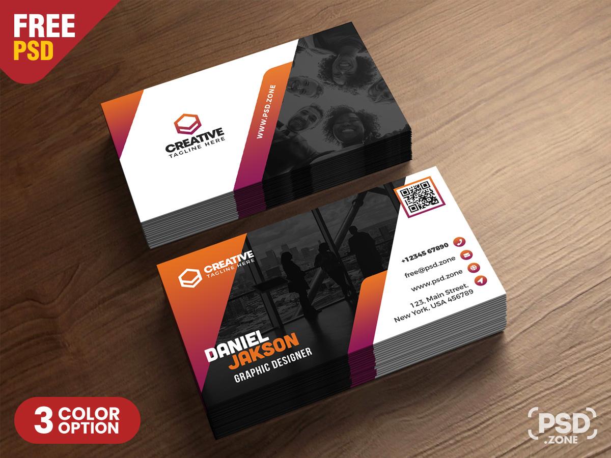 Creative Business Card Design Template – Download PSD Within Creative Business Card Templates Psd
