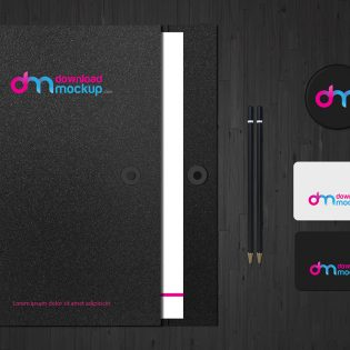 Stationery Branding Mockup Template