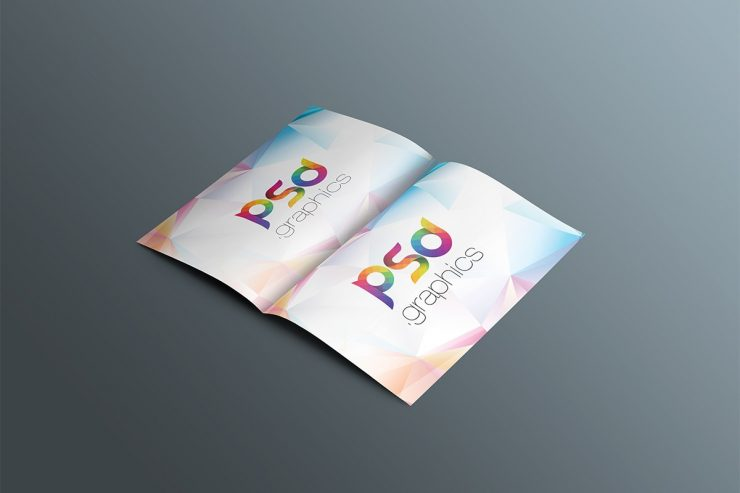 Free Brochure Mockup PSD Template
