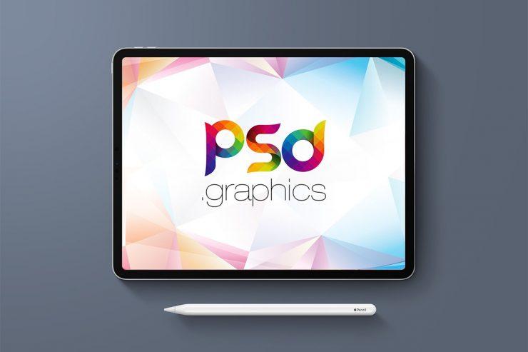 Free iPad Pro Mockup Template