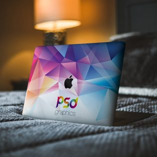 Free Macbook Pro Laptop Skin Mockup
