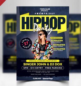 Nightclub Party Flyer PSD Template