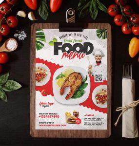 Restaurant Food Menu Template Design