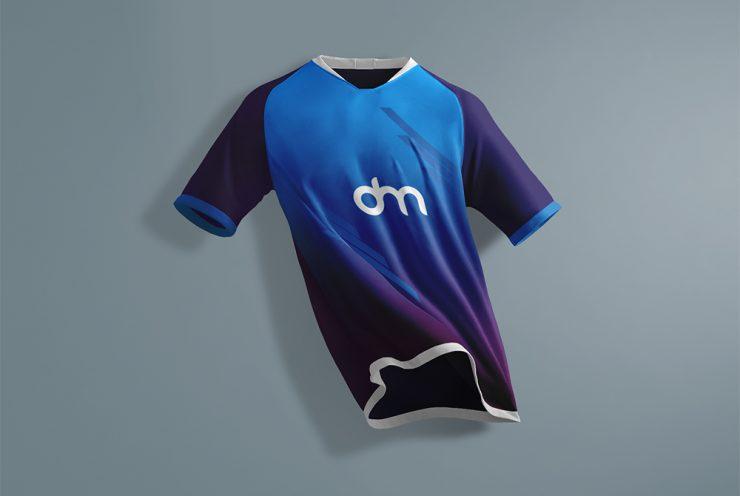 Sports T-Shirt Mockup Template