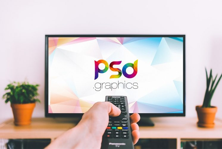Smart TV Mockup Template