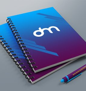 Spiral Notebook Mockup PSD Template