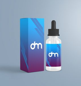 Dropper Bottle Label Mockup