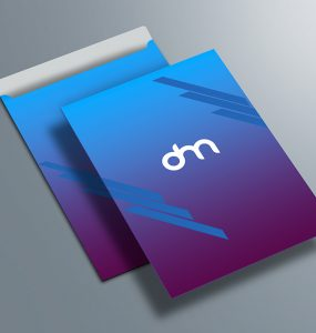 Letterhead and Envelope Mockup Template