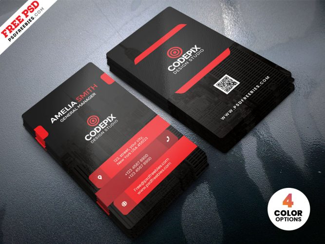 Corporate Business Card Design Template