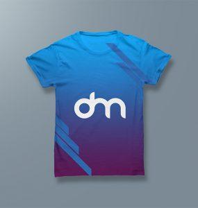 Men's T-shirt Mockup PSD Template