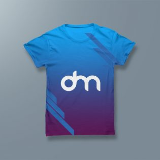 Men's T-shirt Mockup PSD Template