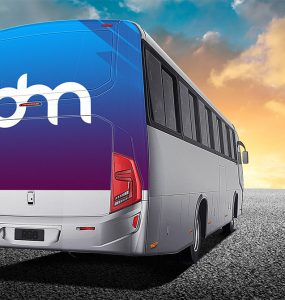Bus Branding Mockup Template