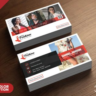 Fashion Boutique Business Card Template