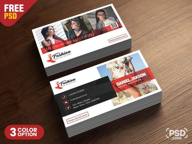 Fashion Boutique Business Card Template