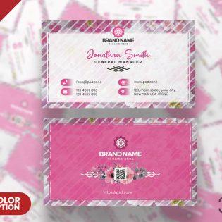Beautiful Business Card Design Template
