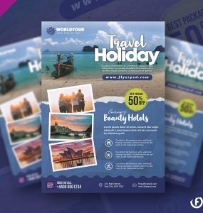 Tour and Tavel Agency Flyer Template