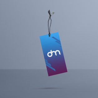 Clothing Label Tag Mockup