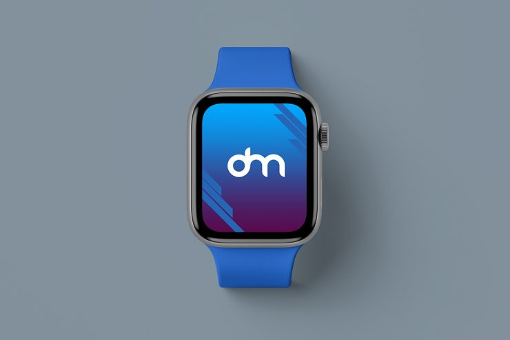 Free Apple Watch Series 5 Mockup PSD