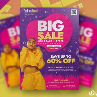Big Sale Promotion Flyer Template
