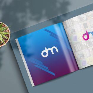Open Square Magazine Mockup