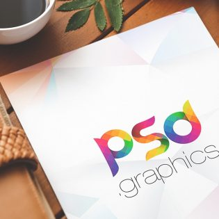 A4 Flyer Mockup PSD Template